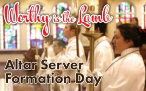 Altar Server Formation Day @ St. John Bosco Catholic School