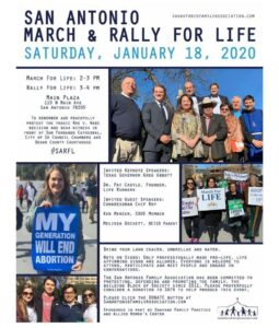 San Antonio March & Rally For Life @ Main Plaza